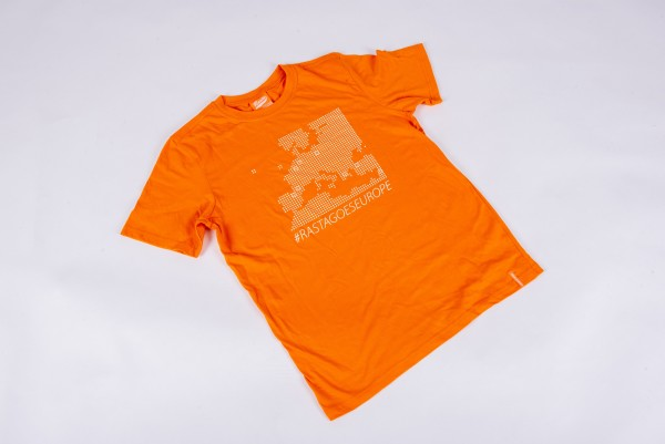 T-Shirt Europapokal Unisex (orange)